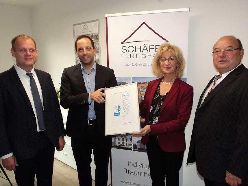 2019 Schäfer Fertighaus CrefoZert