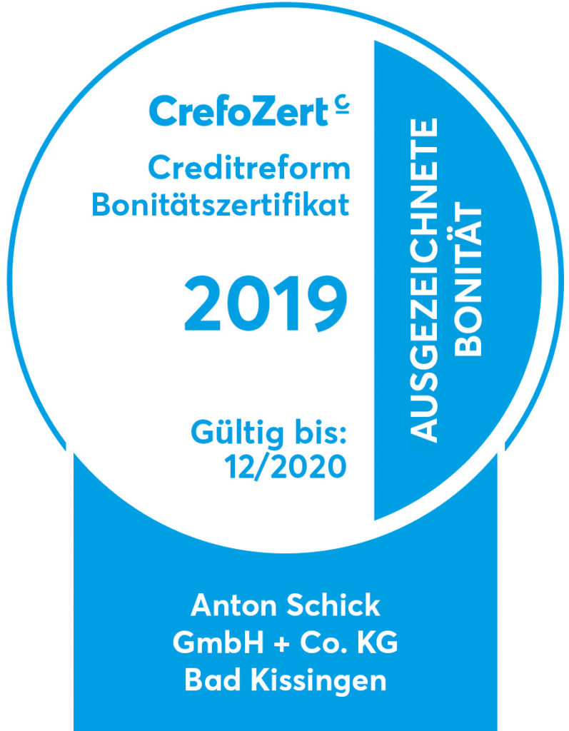 2019 Weblogo 8310000263 Anton Schick GmbH + Co KG